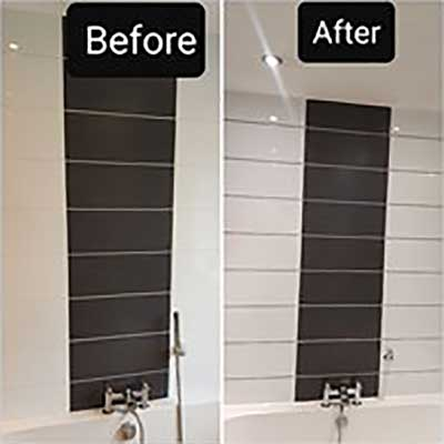 Grout Cleaning and Recolouring